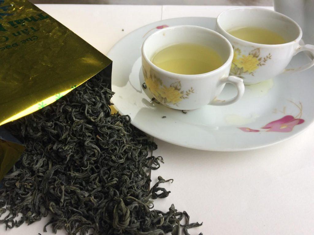 Bề ngoài và hương vị của sản phẩm Chè Sạch Thái Nguyên.