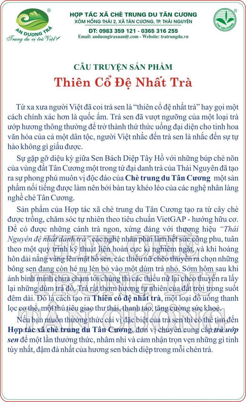 câu chuyện trà thiên cổ tiếng việt